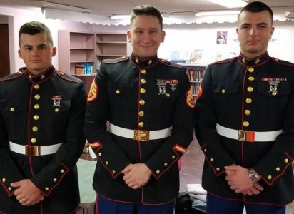 The Good Fight - Larry Shapiro Job Center Welcomes Marines