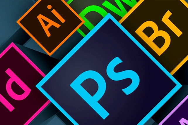 Adobe Program Icons used by Graphic Designers