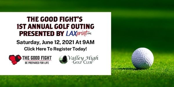The Good Fight Community Center's Inaugural 4-Person Golf Scramble presented by LAX Print